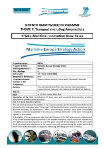 D4.4 - e-Maritime: Innovation Show Cases