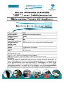 D4.3 - e-maritime: Thematic Workshop Reports