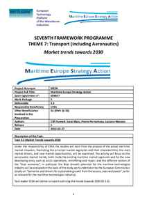 D5.3 - Market trends towards 2030
