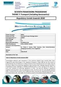 D5.5 - Regulatory trends towards 2030